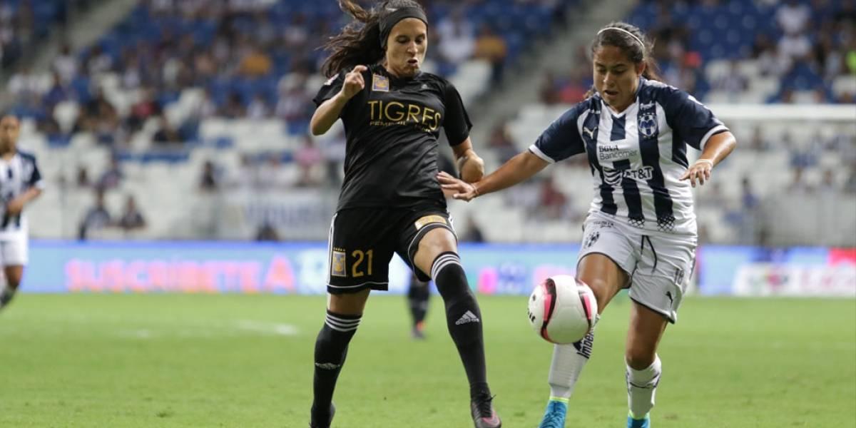 Clásico femenil entre Tigres y Rayadas será con sabor a Liguilla