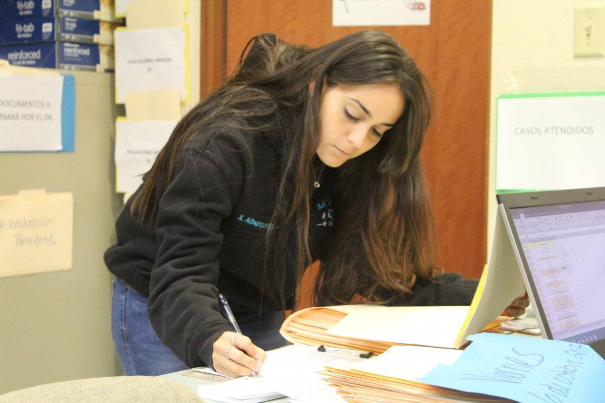 Franchely Soto Rivera, estudiante de biología en UPR Bayamón.