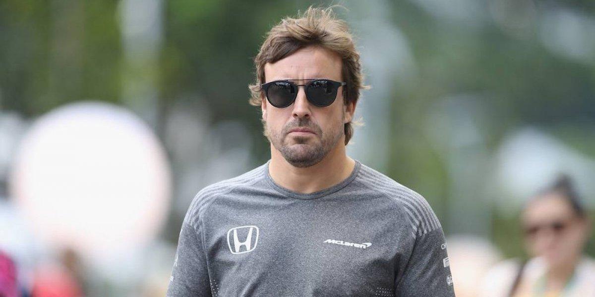 Fernando Alonso renueva con McLaren