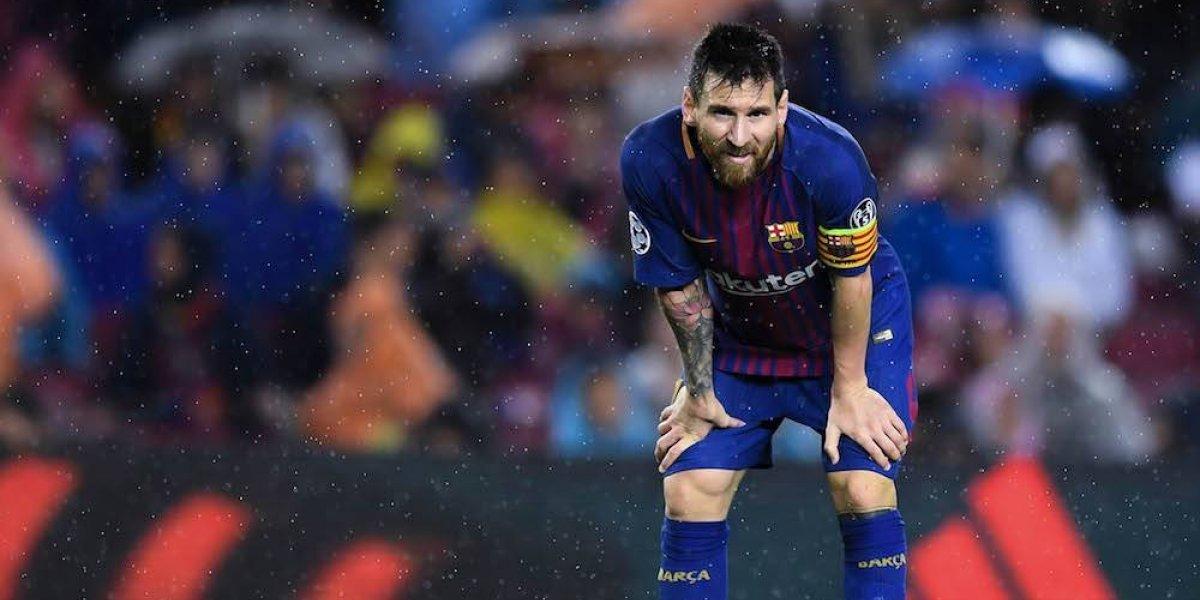 Revelan de qué era la pastilla que tomó Messi en la Champions