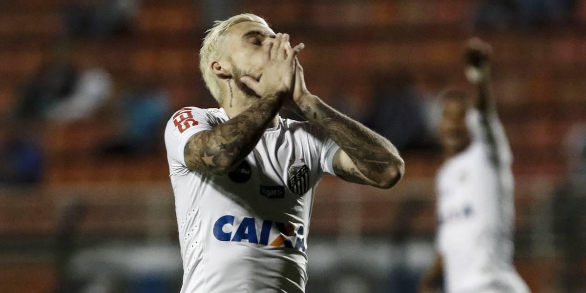Após reunião, Lucas Lima é afastado e não atua mais pelo Santos