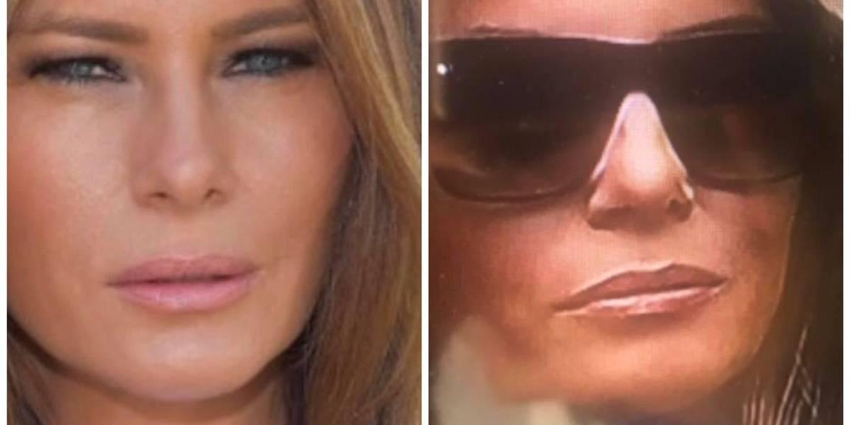 ¿Donald Trump va con una doble de Melania a sus actos públicos? Este video comprobaría la teoría