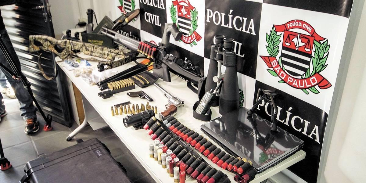 Polícia faz operação em SP contra grupo envolvido com tráfico da Rocinha