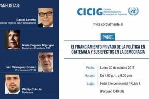 Panel de CICIG