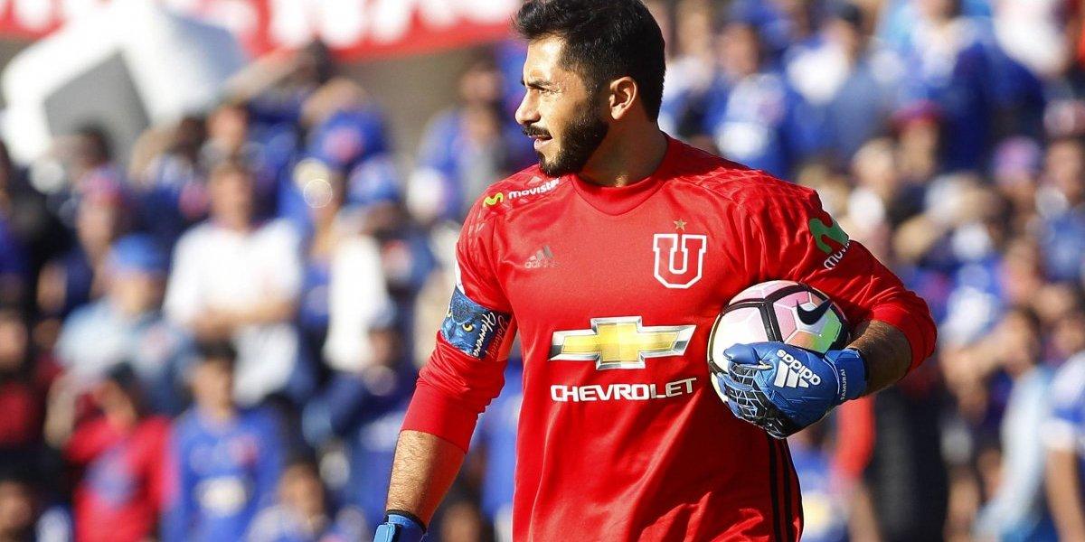 """Johnny Herrera: """"Soñamos con terminar un año redondo, con bicampeonato y la Copa Chile"""""""