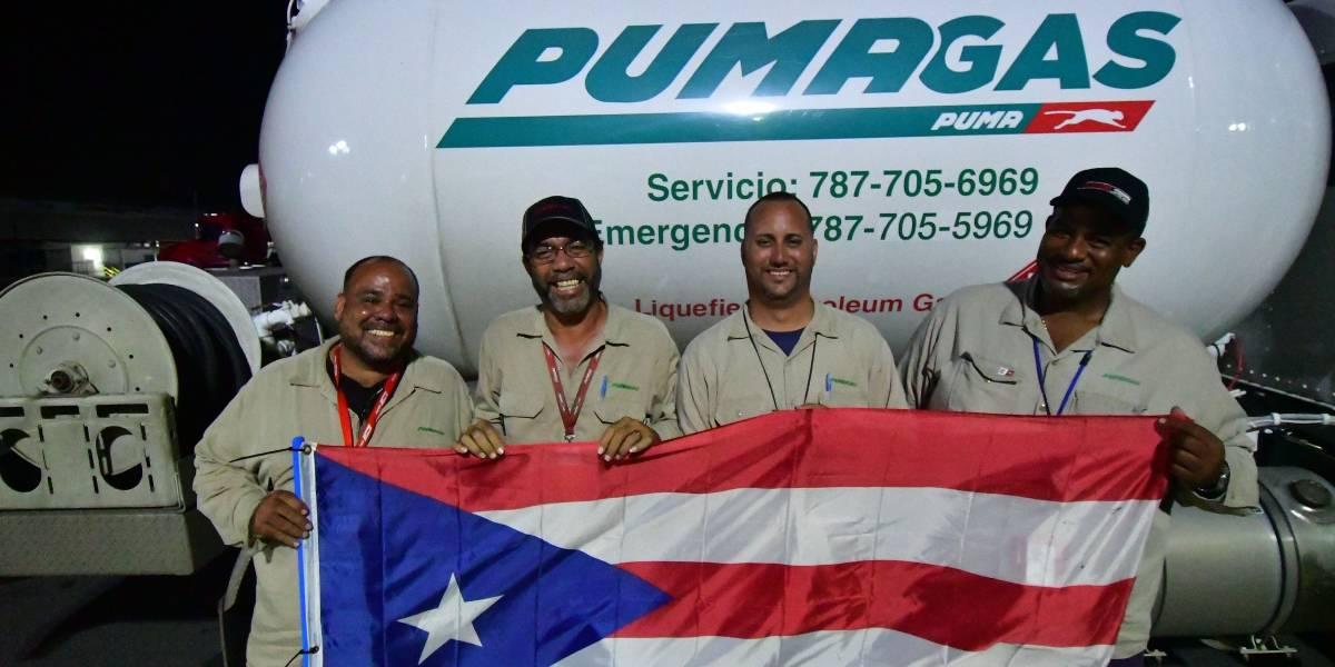 Camioneros de gas empeñados en echar pa'lante la Isla