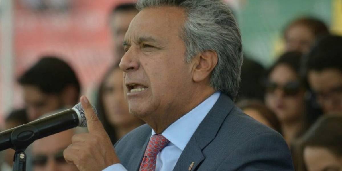 Lenín Moreno: En la actualidad la Policía resuelve 8 de cada 10 crímenes
