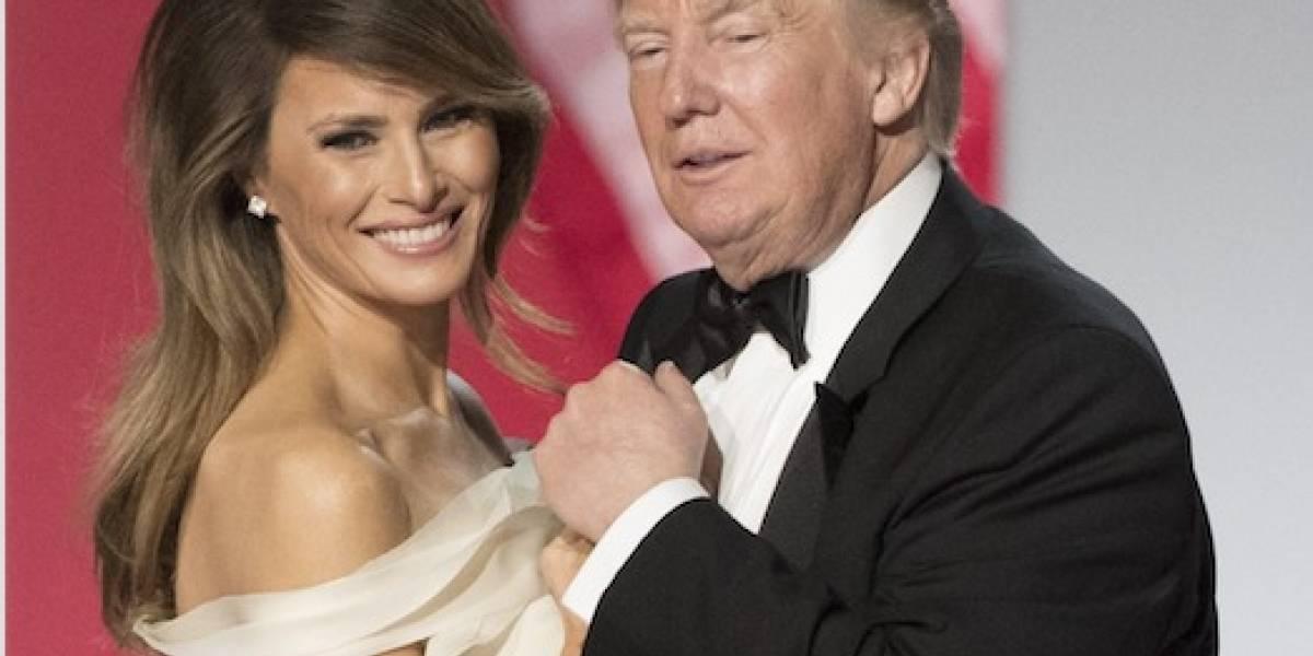 Melania Trump donará vestido del primer baile presidencial