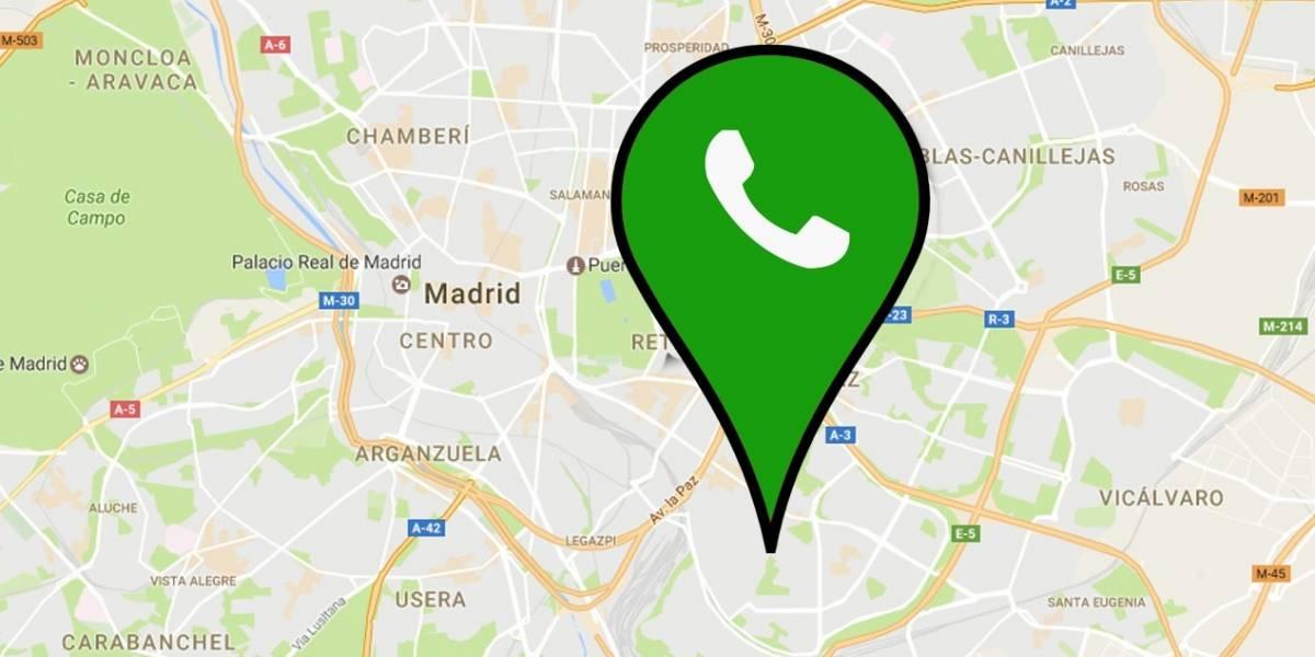 5 situaciones para usar la nueva ubicación de tiempo real de WhatsApp