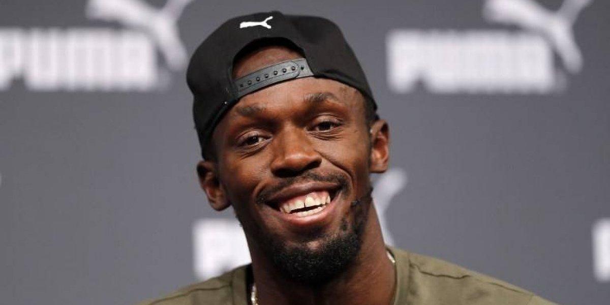 Usain Bolt sueña con el fútbol: quiere jugar y ser dirigido por Zidane