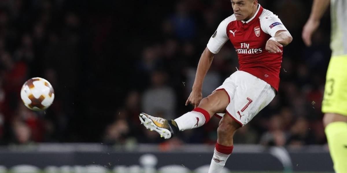 Alexis rompió el silencio para hablar de su nuevo compañero de ataque en el Arsenal