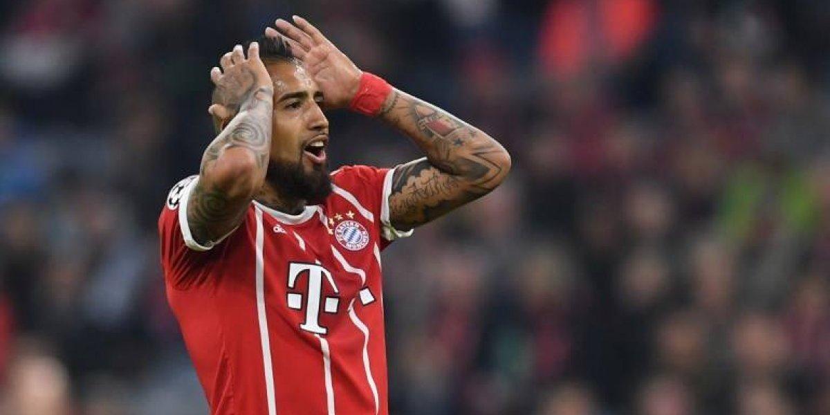 Heynckes deja en suspenso el regreso a la titularidad de Vidal en el Bayern