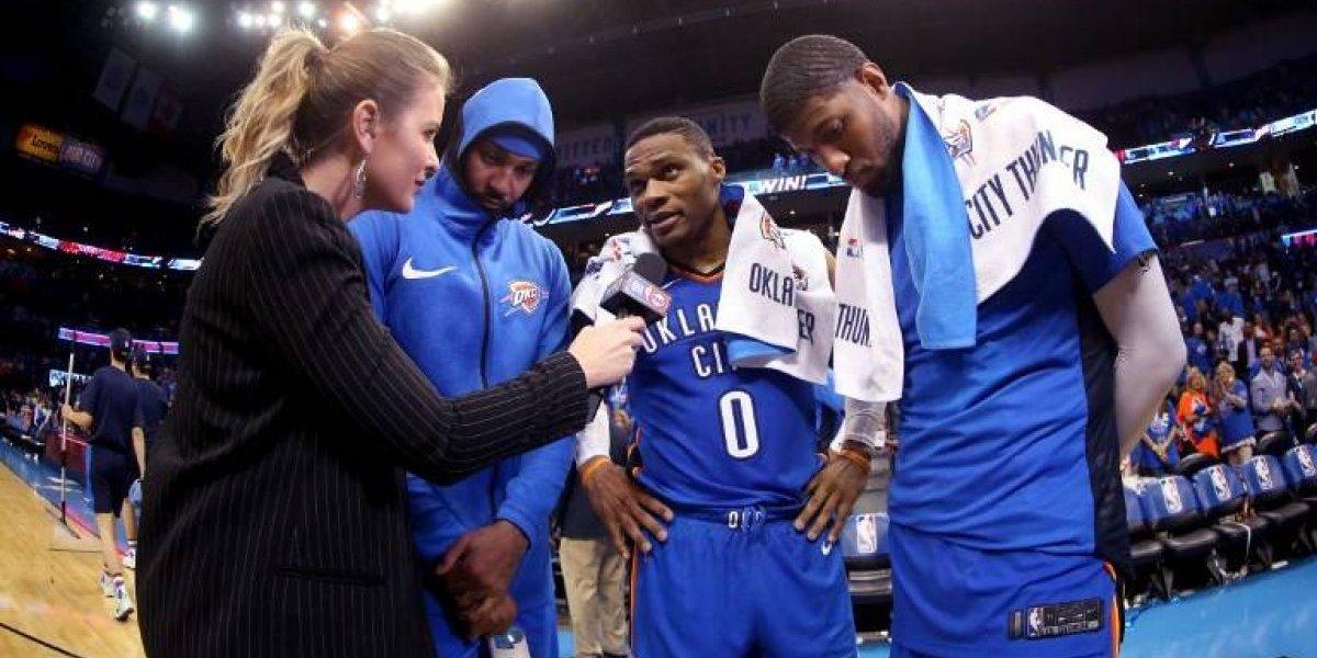 """Westbrook, George y Anthony amenazan a la NBA con el poderoso """"big 3"""" del Thunder"""