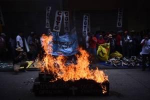 Macha por el Día de la Revolución