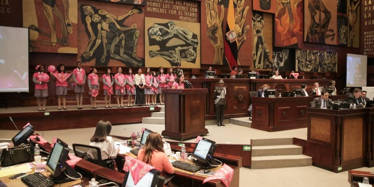 Asamblea aprueba resolución elaborada por las niñas sobre violencia e impunidad