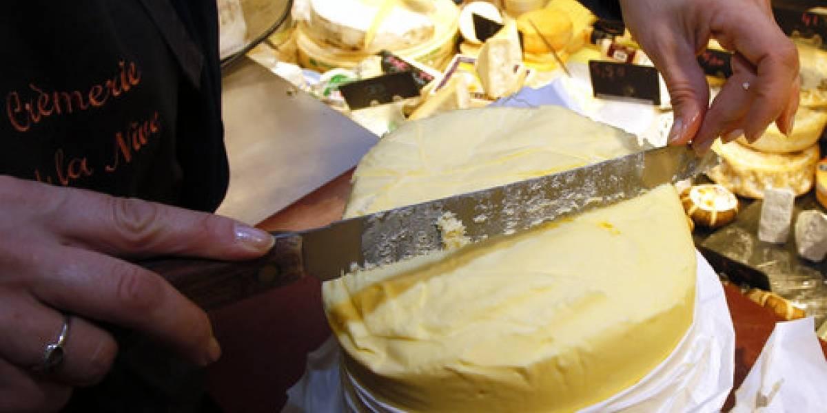 Escasea la mantequilla en Francia