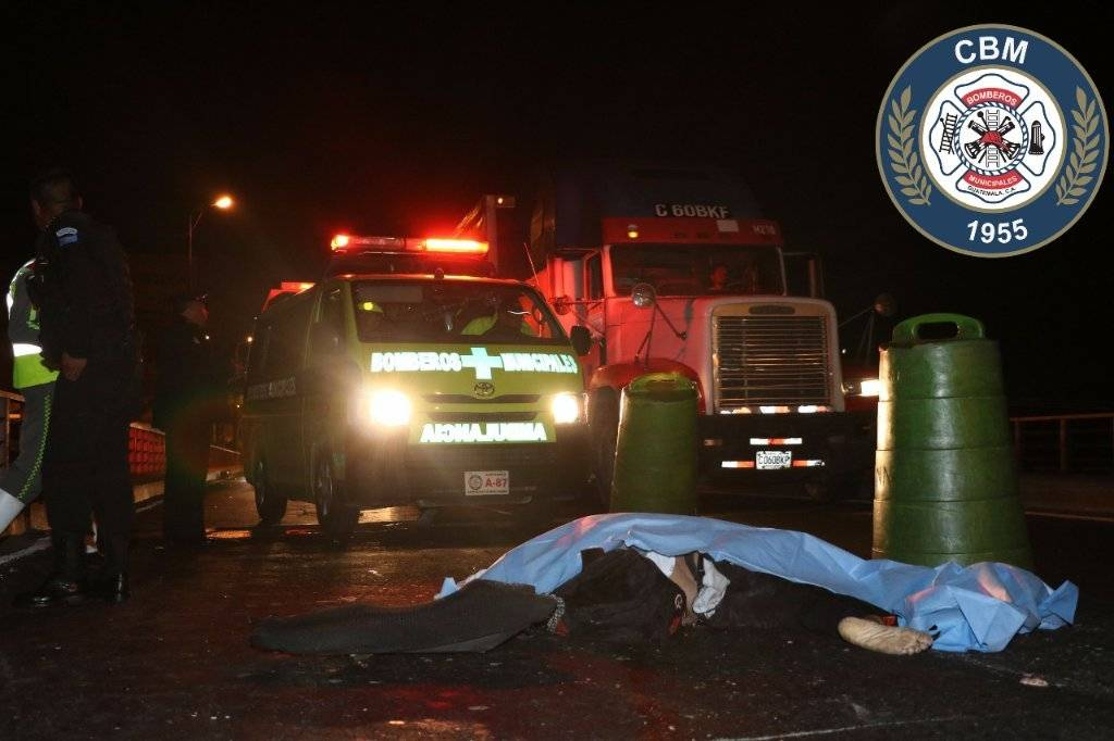 Un hombre murió en un accidente de tránsito en el puente Belice.