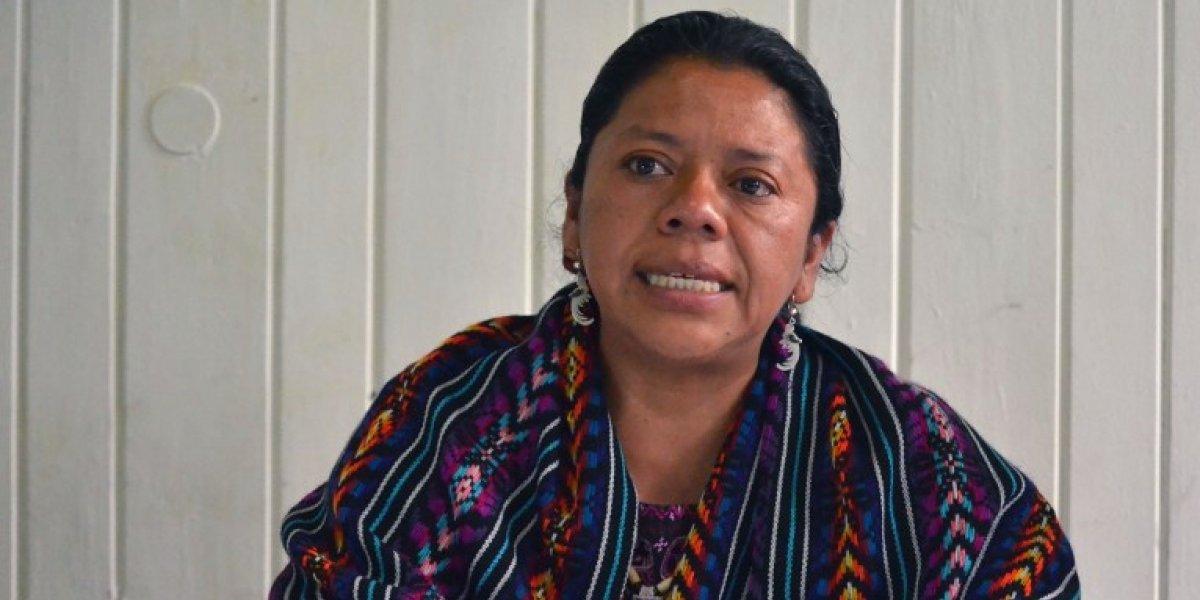 Lolita Chávez, indígena guatemalteca candidata al Premio Sajarov