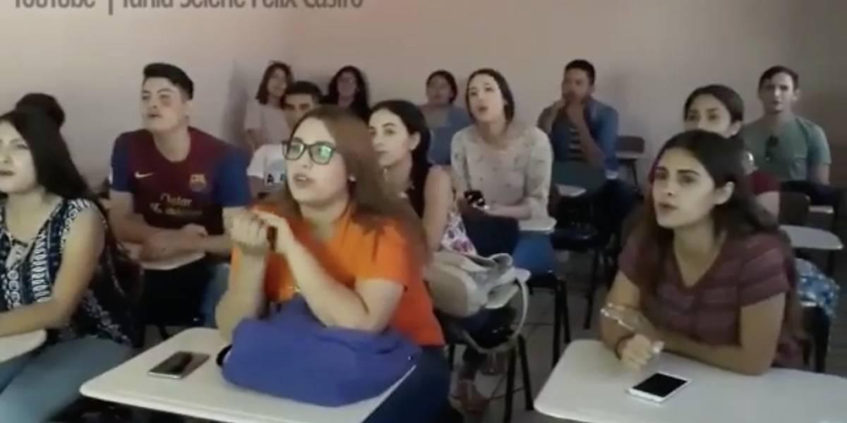"""Aprender inglés al ritmo de """"la Chona"""" se vuelve viral"""