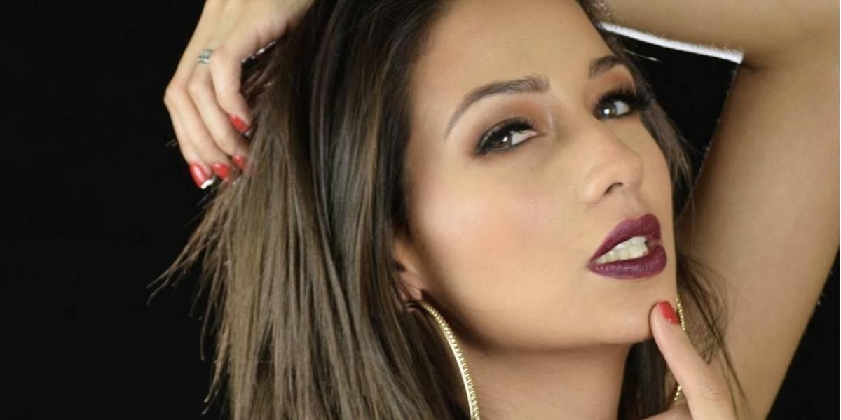 Aida Estrada enamora a sus fans con su sexy tatuaje de feminidad