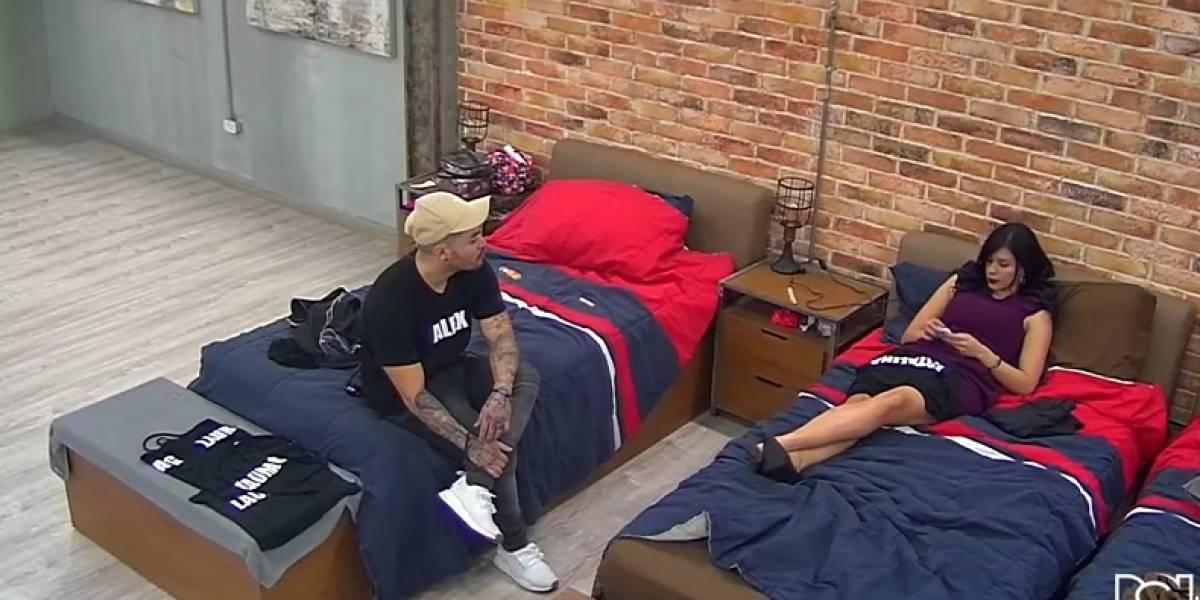 Video en redes muestra a Alex y Katalina peleando a los golpes