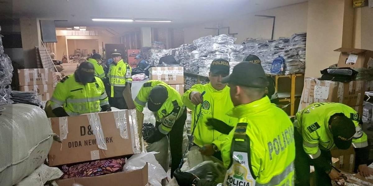 ¿Qué pasará con el cargamento de contrabando decomisado en Bogotá?