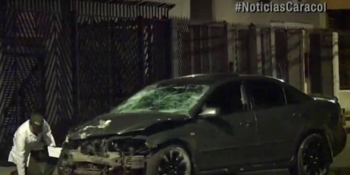 Ladrones en fuga terminan con la vida de un motociclista en el norte de Bogotá