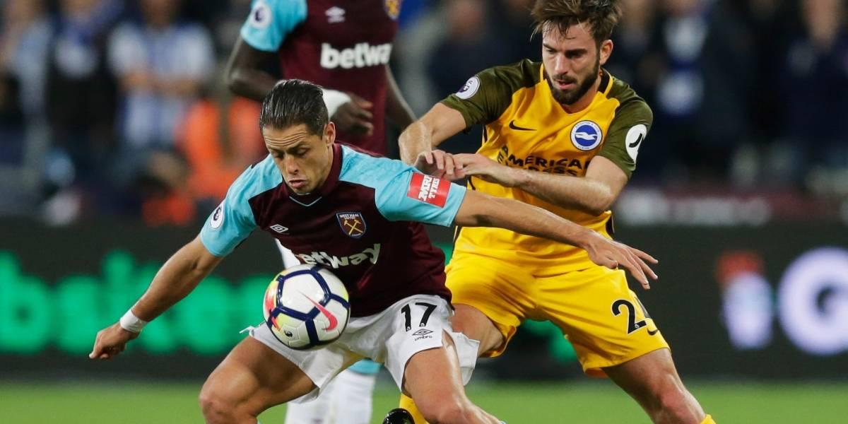 """""""Chicharito"""" y West Ham son goleados y siguen hundidos en la Premier"""
