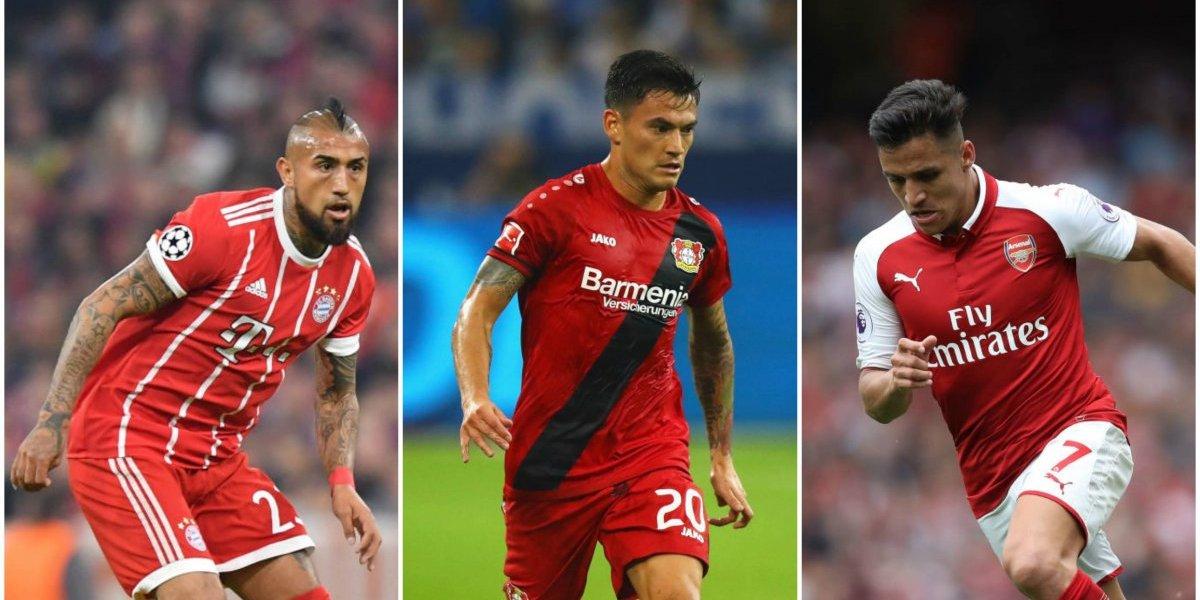 Con Alexis, Vidal y Aránguiz como protagonistas: La cartelera futbolera del fin de semana