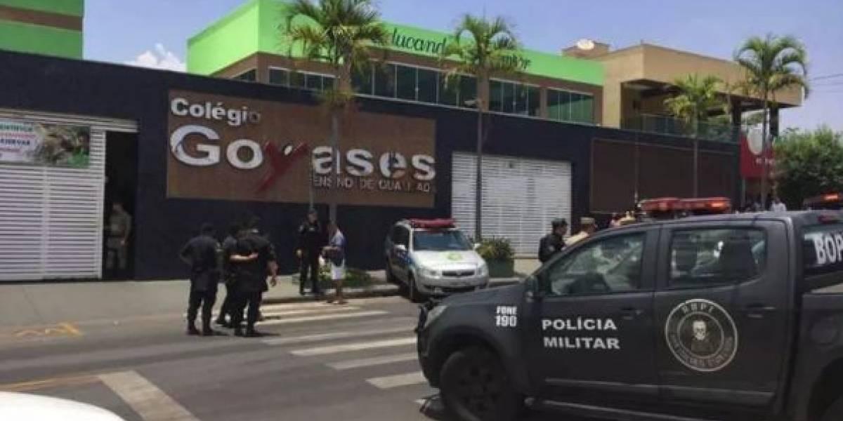 Alumno mata a dos compañeros en Brasil