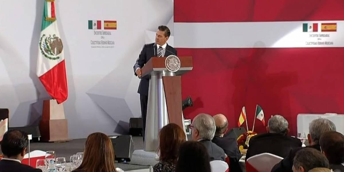 México no reconocerá independencia de Cataluña, reitera Peña Nieto