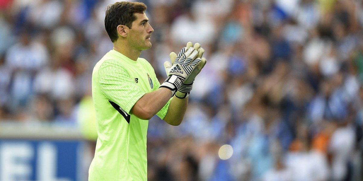 Revelan detalles de la suplencia de Iker Casillas en el Porto
