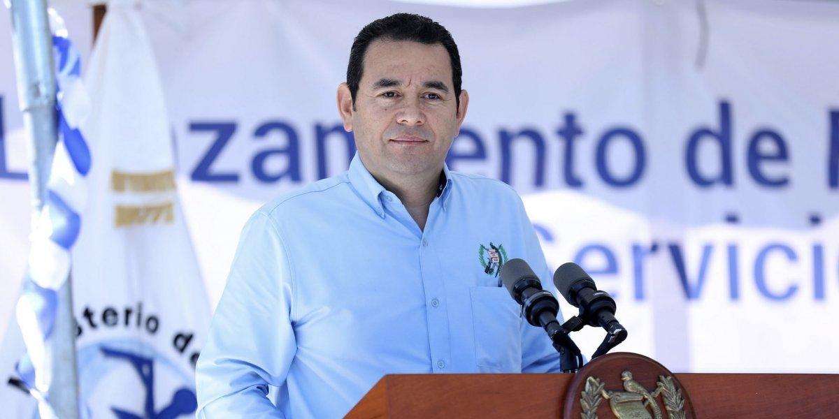 ¿Jimmy Morales en Matamoros? Esto informó la Presidencia