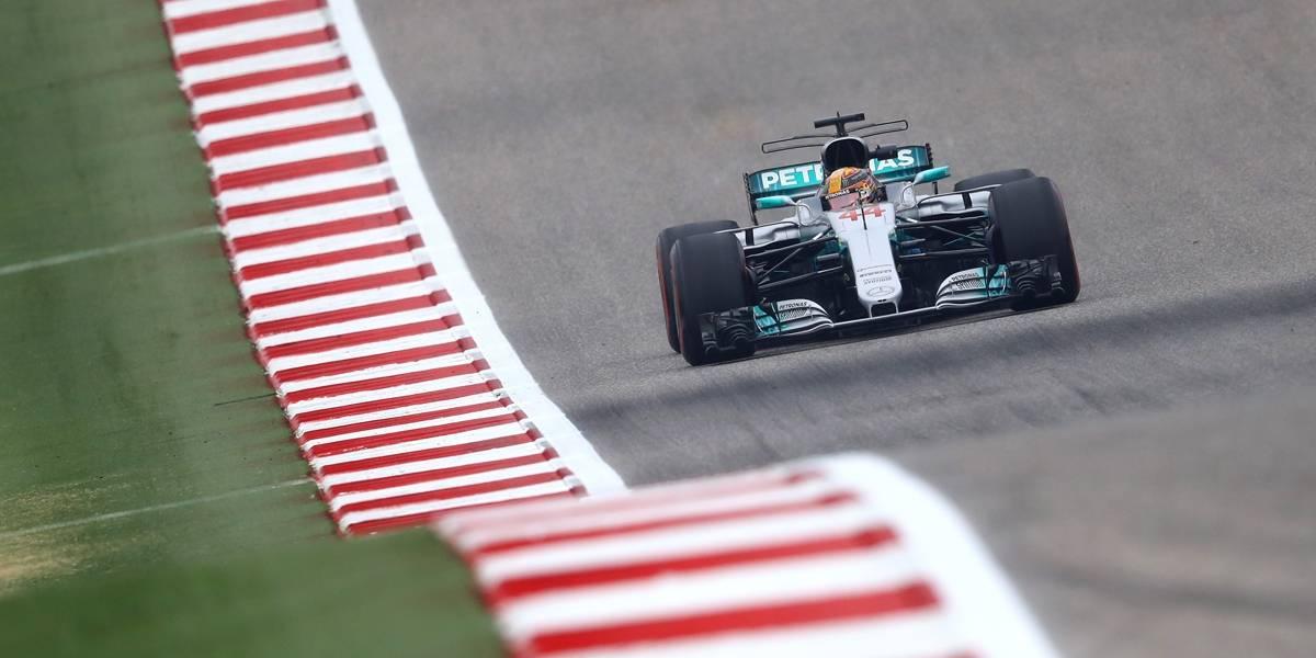 Hamilton domina e garante a pole para o GP dos EUA; Vettel sai em segundo