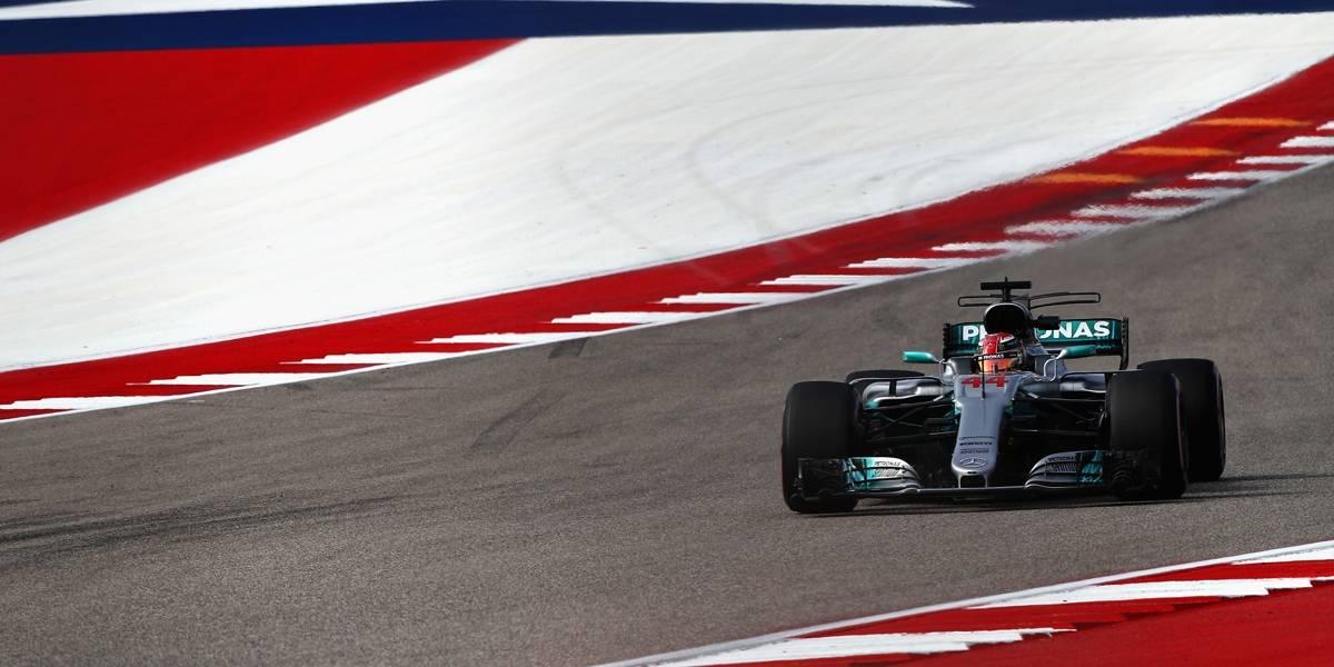 Hamilton volta a deixar Vettel para trás no 2º treino livre nos EUA