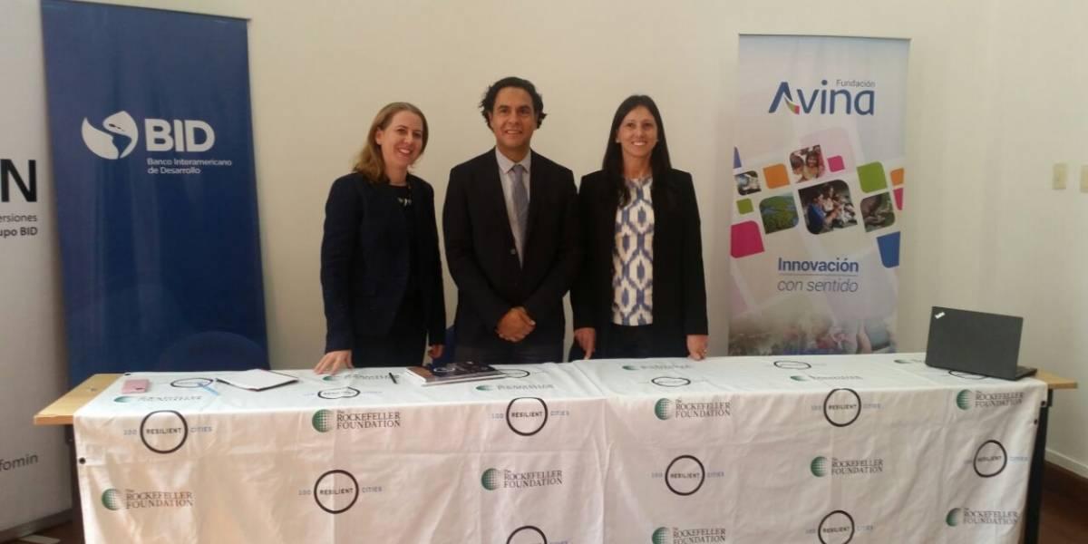 Quito firmó compromiso con 100 ciudades resilientes
