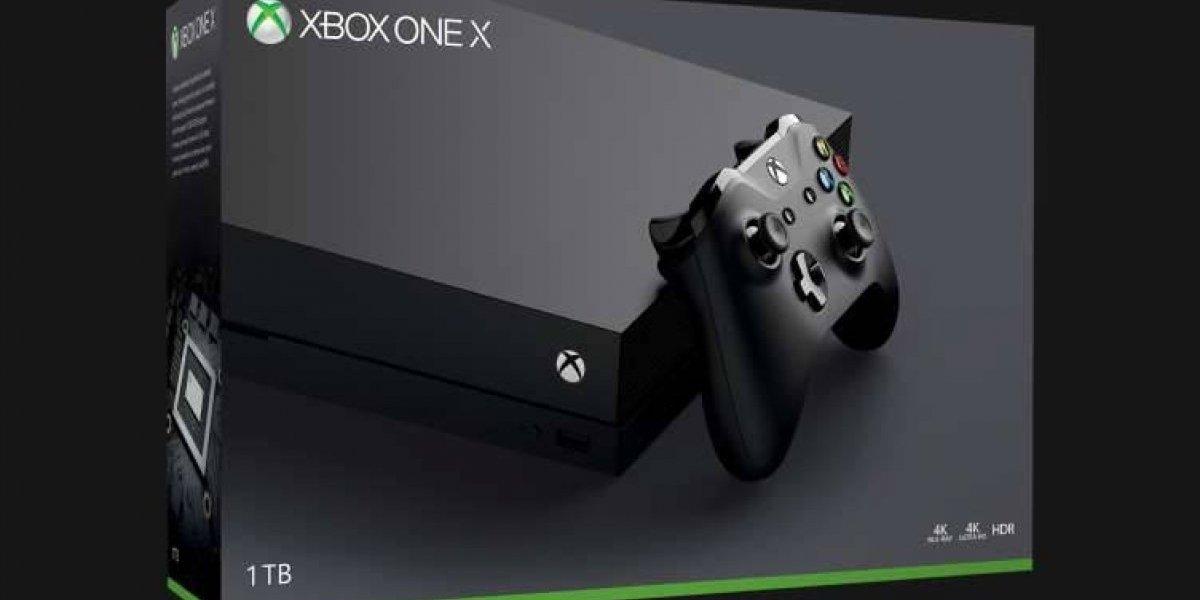 Este fin de semana habrá comercial oficial de Xbox One X