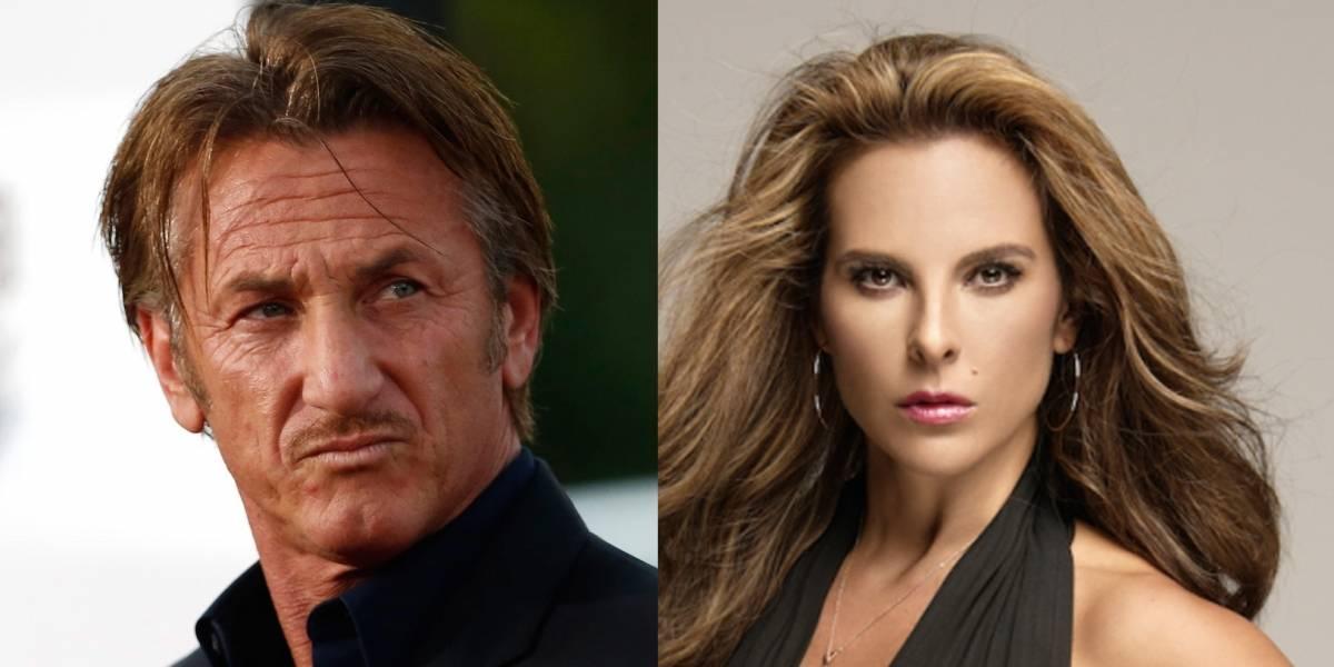 Kate del Castillo tuvo sexo con Sean Penn