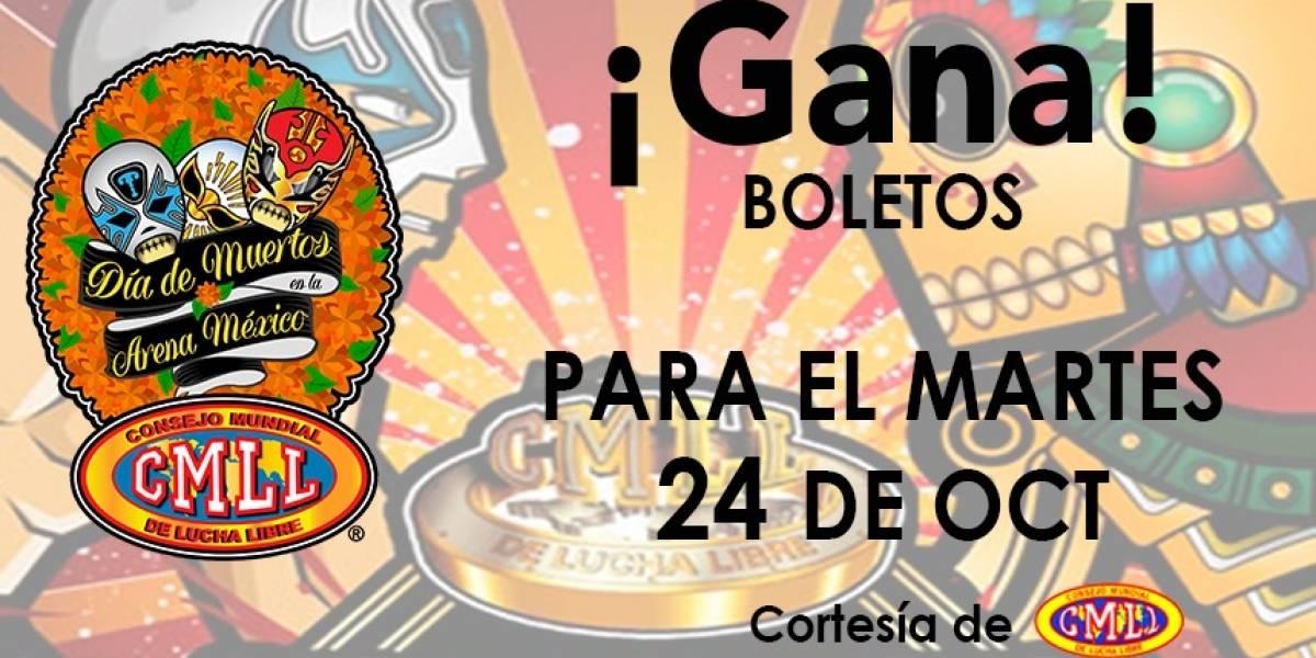 ¡Gana! boletos para el CMLL