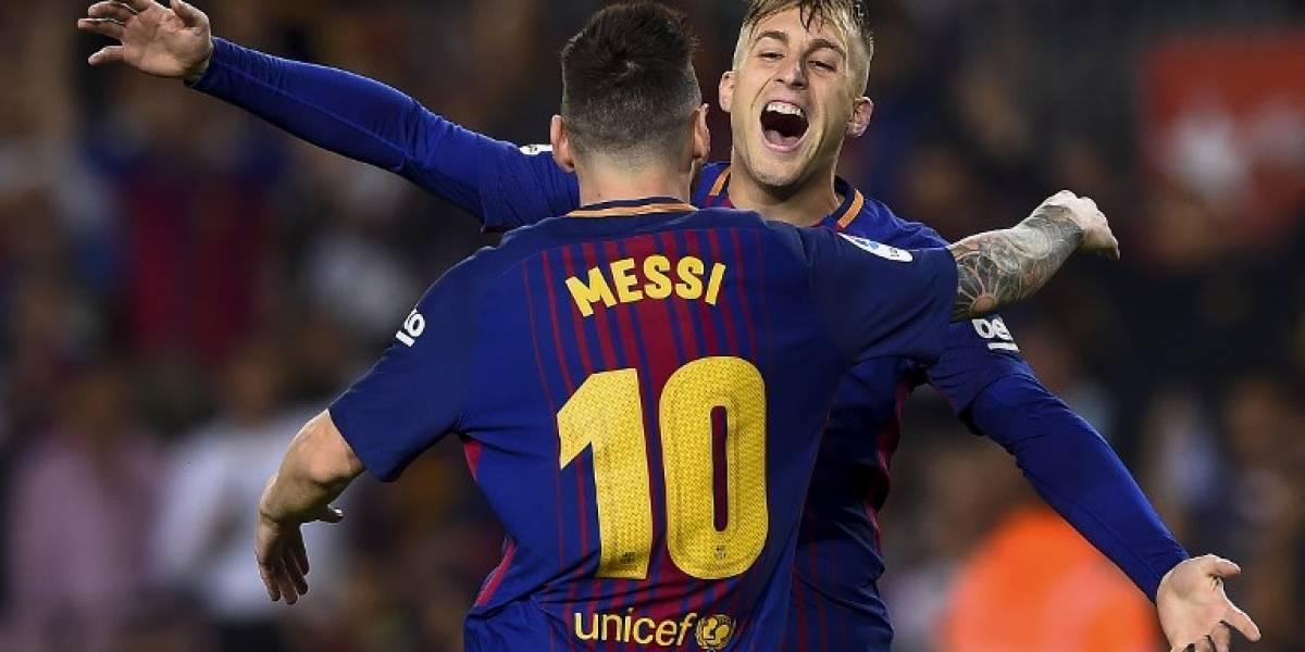 ¡El polémico gol de Deulofeu que adelantó al Barsa ante el Málaga!