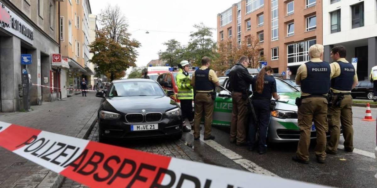 Ataque en Alemania: sujeto acuchilla a transeúntes en Munich y deja a cuatro personas heridas