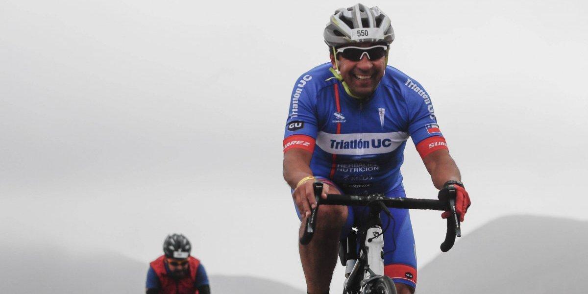 Mario Lepe se graduó de crack en Coquimbo e Iván Álvarez desafió al Huaso a participar en el Ironman de Pucón