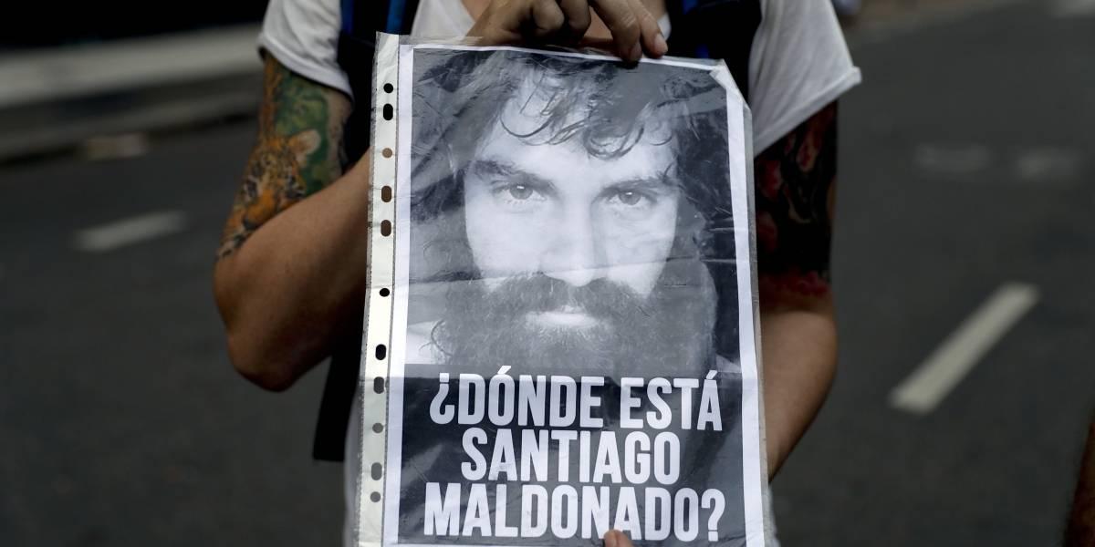 Argentina lucha por esclarecer la muerte del activista Santiago Maldonado