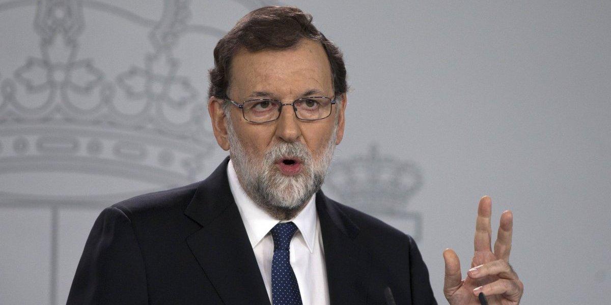Rajoy pide poderes para disolver gobierno de Cataluña