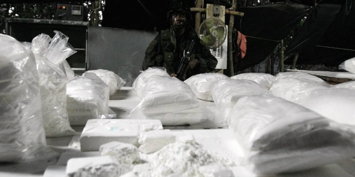 Incautan 762 kilos de cocaína y laboratorio del Clan del Golfo