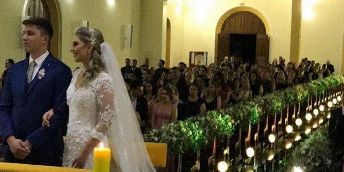 Sobreviviente del Chapecoense se casó a casi un año de la tragedia