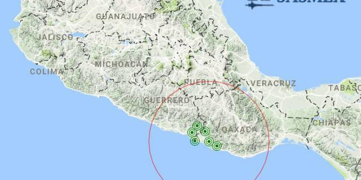 Protección Civil descarta daños tras sismo en Pinotepa Nacional, Oaxaca