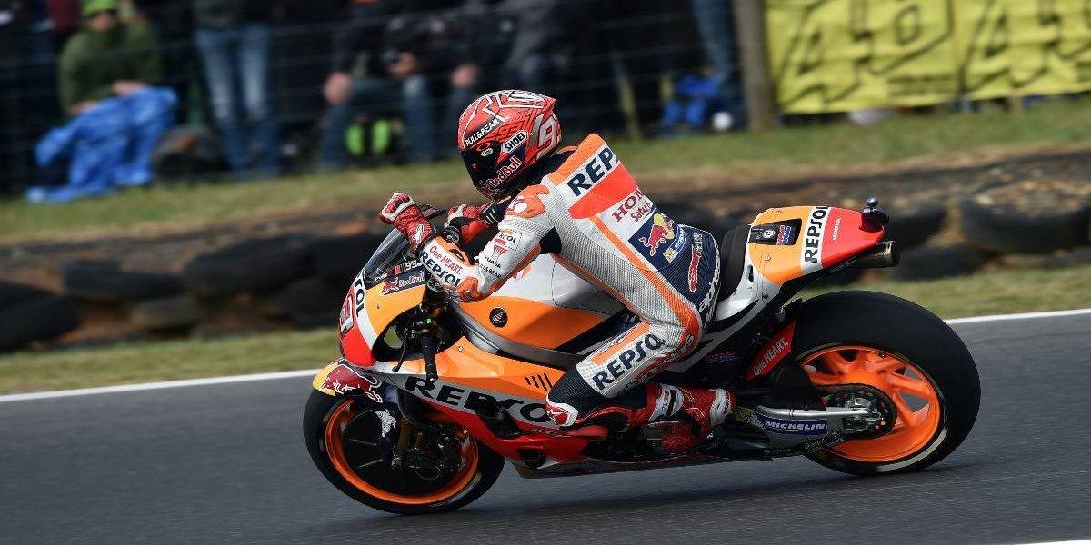 Marc Márquez saldrá primero en el GP de Australia de MotoGP