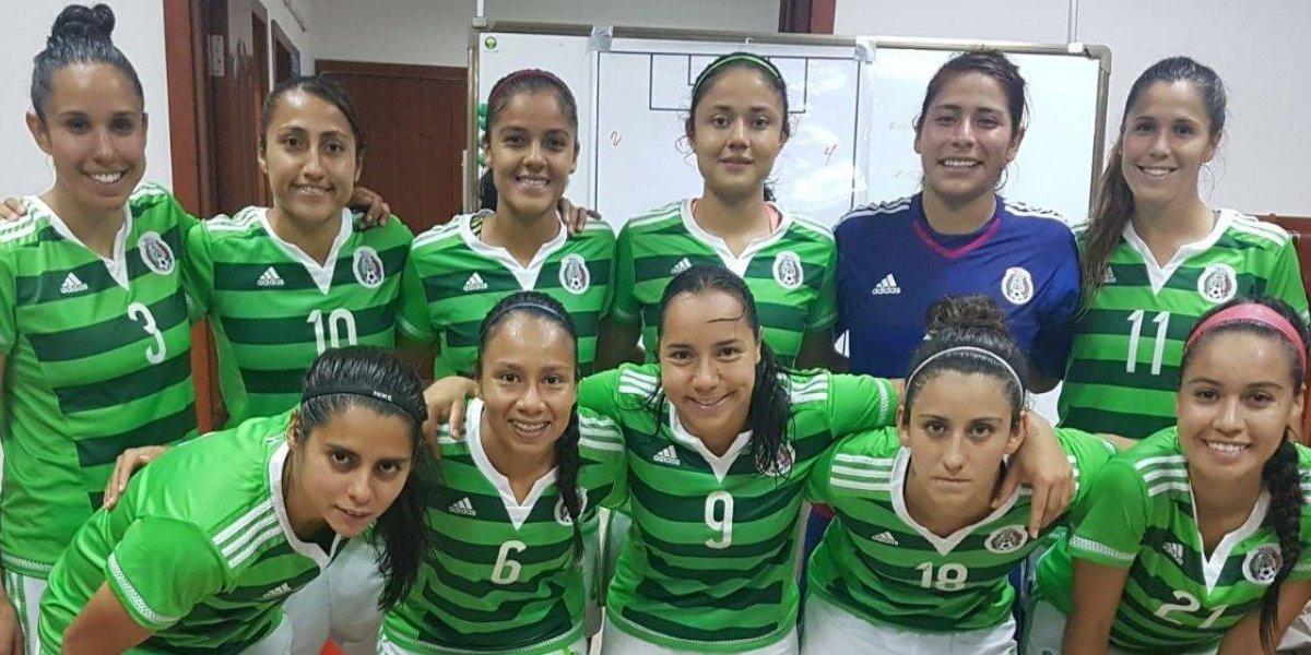El Tri femenil cae ante China en el Torneo Cuatro Naciones