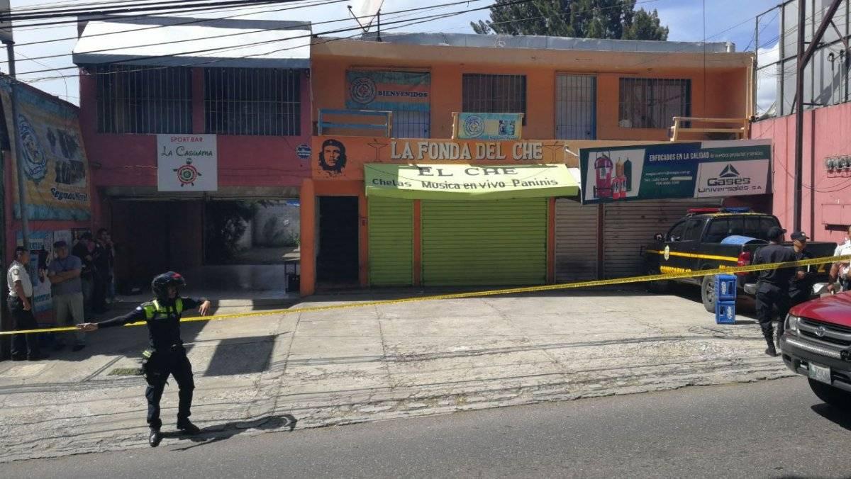 Mujeres asesinadas en Mixco